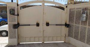 دروازه برقی ریموتی
